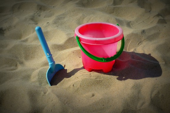 Bucket and Spade by Henry Burrows via Flickr