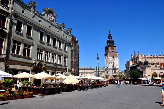 Krakow Old Town by Corinne Cavallo via Flickr