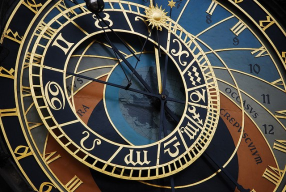 Prague Astronomical Clock by Elena via Flickr
