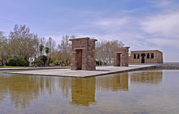 Temple of Debod by John Robinson via Flickr