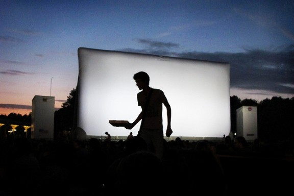 cinema via flickr by junglearctic