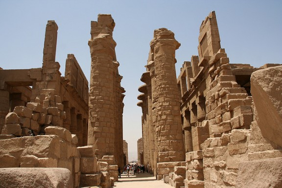 Karnak Temple by Michael Tyler via Flickr