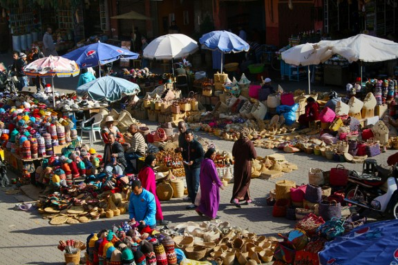 Souk in Marrakech Erol Pohlreich via Flickr