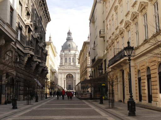 St Stephen's Basilica in Budapest