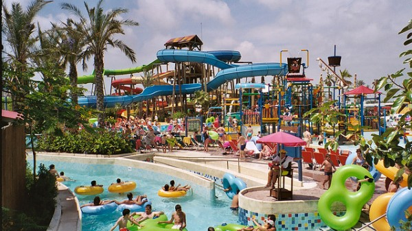 Something for the Kids: Family Hotels with Waterparks and Slides