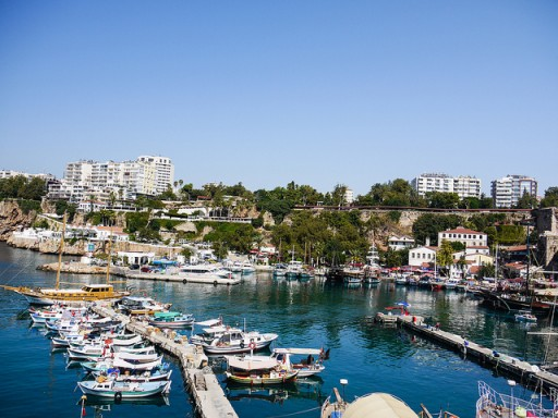 Antalya Marina by Forrestal_PL via Flickr