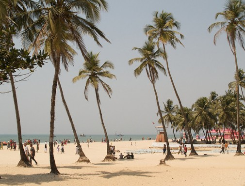 Goa beach by Sandra Cohen-Rose and Colin Rose via Flickr
