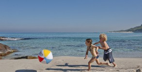 Kids playing on beach by Margaret River via Flickr