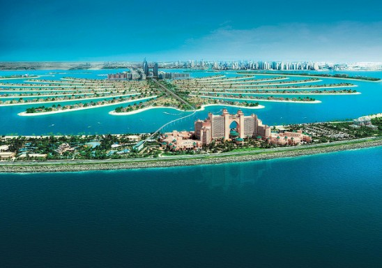 Palm Jumeirah Island by Werner Bayer via Flickr