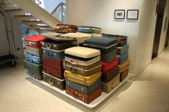Suitcases by Ben Husmann via Flickr
