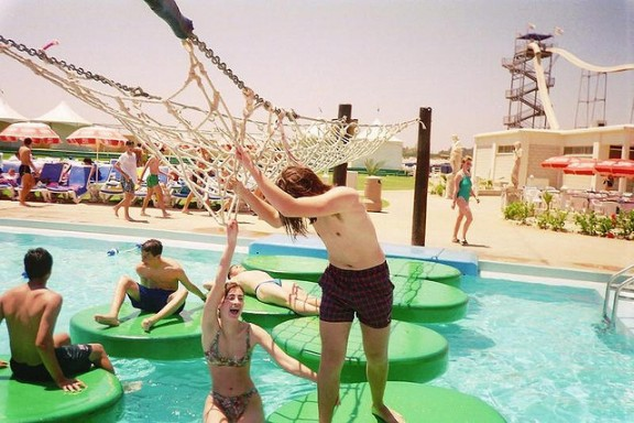 Waterpark in Cyprus by Leonid Mamchenkov via Flickr