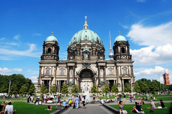Berlin Cathedral by Manuel Martin via Flickr