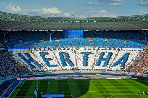 Hertha Berlin by Frankinho via Flickr