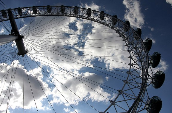 London Eye by Russell Trow via Flickr