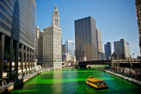Chicago Green River by Max Talbot-Minkin via Flickr