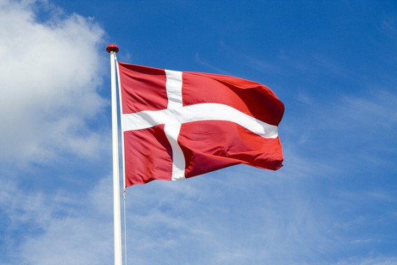 Denmark flag by Jacob Botter via Flickr