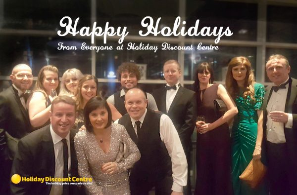 Happy Holidays from Holiday Discount Centre