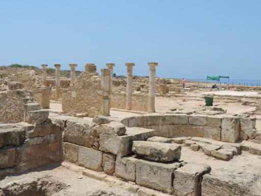 Old Paphos is a large site and must have been a busy and vibrant city in its time.