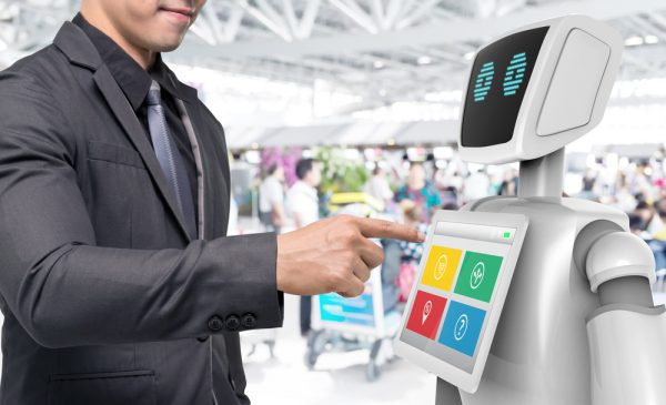 Could robots be the solution to airport delays?