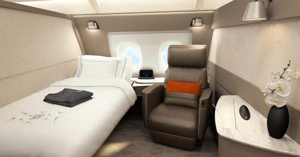 Singapore Airlines A380 New Cabins
