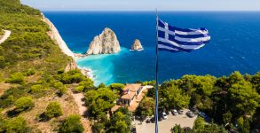zante greece flag
